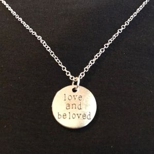 ❤️ Handmade Inspirational Silver Necklace ❤️